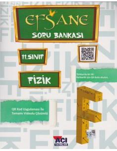 Açı Yayınları 11.Sınıf Fizik Efsane Soru Bankası