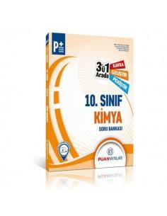 Puan Yayınları 10. Sınıf Kimya 3'ü 1 Arada Soru Bankası