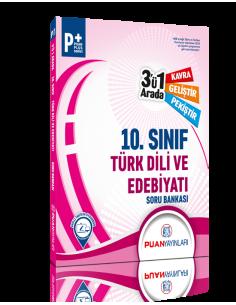 Puan Yayınları 10. Sınıf Türk Dili ve Edebiyatı 3'ü 1 Arada Soru Bankası