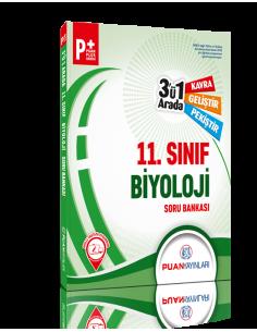 Puan Yayınları 11. Sınıf Biyoloji 3'ü 1 Arada Soru Bankası