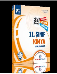 Puan Yayınları 11. Sınıf Kimya 3'ü 1 Arada Soru Bankası