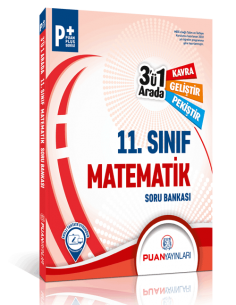 Puan Yayınları 11. Sınıf Matematik 3'ü 1 Arada Soru Bankası