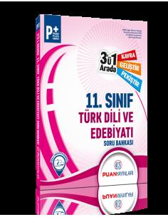 Puan Yayınları 11. Sınıf Türk Dili ve Edebiyatı 3'ü 1 Arada Soru Bankası