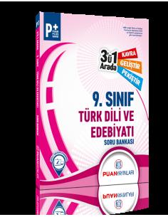 Puan Yayınları 9. Sınıf Türk Dili ve Edebiyatı 3'ü 1 Arada Soru Bankası