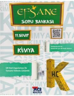 Açı Yayınları 11.Sınıf Kimya Efsane Soru Bankası