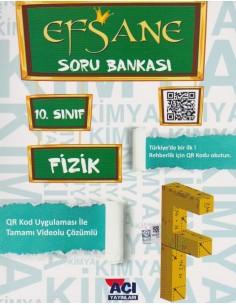 Açı Yayınları 10.Sınıf Fizik Efsane Soru Bankası