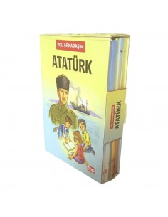 Top Yayıncılık Yol Arkadaşım Atatürk (5 Kitap)