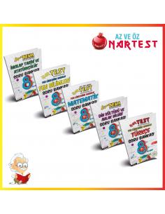 More about Nartest 8. Sınıf LGS Soru Bankası Kampanyalı Set (5 Kitap)