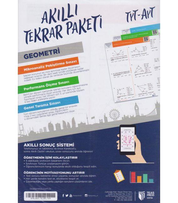 Teas Press TYT-AYT Geometri Akıllı Tekrar Paketi