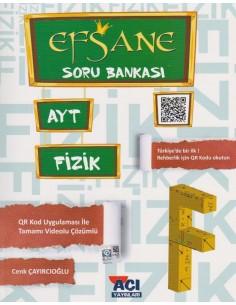 Açı Yayınları AYT Fizik Efsane Soru Bankası