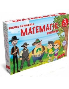 Özyürek Yayınları Sorulu Öykülerle Matematik Dünyası (10 Kitap)