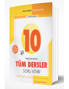 Palme Yayınları 10.Sınıf Temel Kavramlarla Tüm Dersler Soru Kitabı