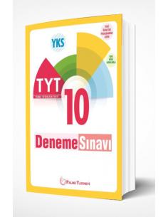 Palme Yayınları TYT 10 Deneme Sınavı