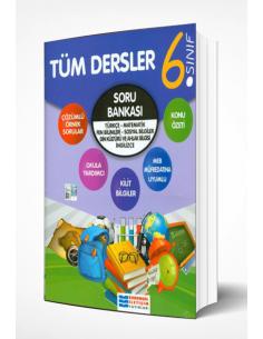 Evrensel İletişim Yayınları 6. Sınıf Tüm Dersler Soru Bankası