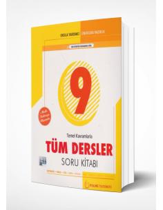 Palme Yayınları 9.Sınıf Temel Kavramlarla Tüm Dersler Soru Kitabı