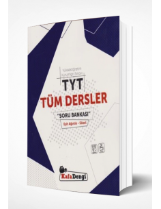 Kafa Dengi TYT TÜM DERSLER EA-SÖZ -SB  2019 Yeni Müfredat