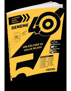 Hız Yayınları 5. Sınıf 40'lı Din Kültürü ve Ahlak Bilgisi Deneme - 2019