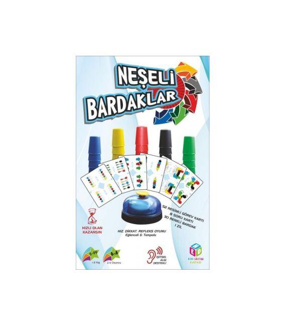Hobi Neşeli Bardaklar Oyunu