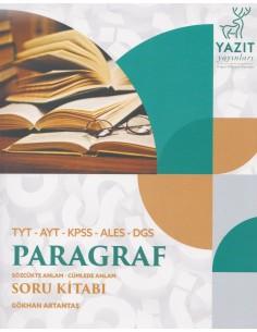 Yazıt Yayınları Paragraf Soru Kitabı (TYT - AYT - KPSS - ALES - DGS)