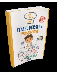 Açı Yayınları 2.Sınıf Temel Dersler Konu Anlatım Kitabı
