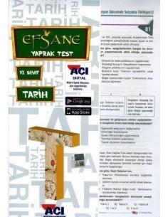Açı Yayınları 10.Sınıf Tarih Çek-Kopart Yaprak Test