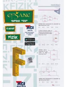 Açı Yayınları 10.Sınıf Fizik Çek-Kopart Yaprak Test