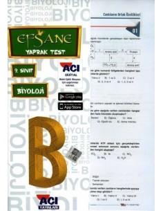 Açı Yayınları 9.Sınıf Biyoloji Çek-Kopart Yaprak Test