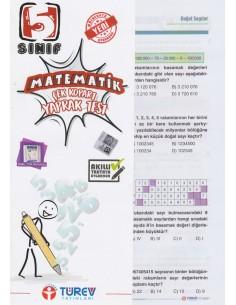 Türev Yayınları 5. Sınıf Matematik Çek-Kopart Yaprak Test