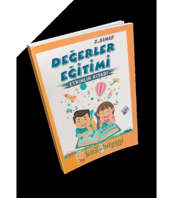 Robinson Çocuk 3. Sınıf Değerler Eğitimi Etkinlik Kitabı