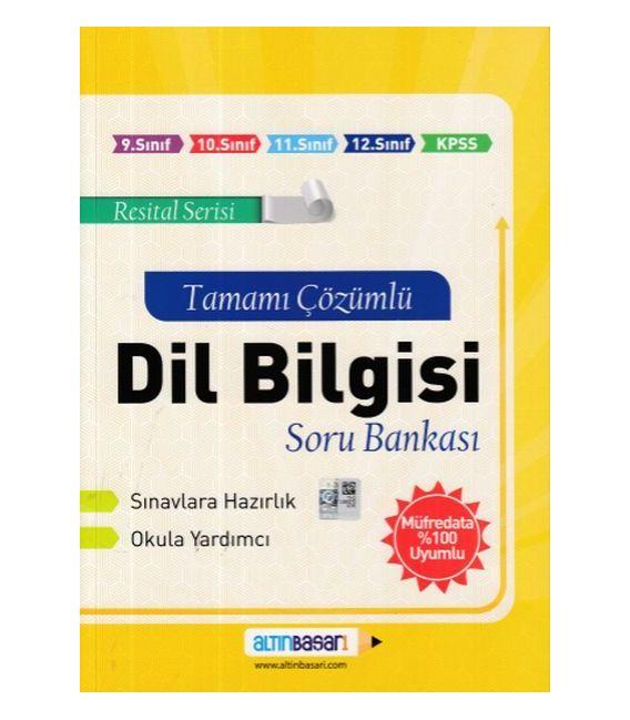 Altınbaşarı Yayıncılık Dil Bilgisi Tamamı Çözümlü Soru Bankası (Yeni)