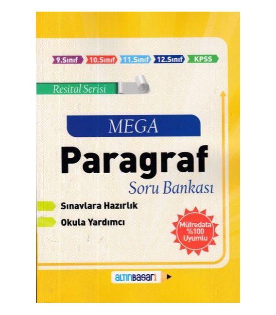 Altınbaşarı Yayıncılık Paragraf Mega Soru Bankası (Yeni)