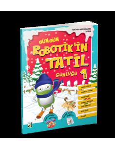 Damla Yayınları Robotik'in Tatil Günlüğü (1. Sınıf)