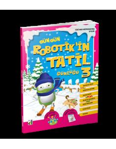 Damla Yayınları Robotik'in Tatil Günlüğü (3. Sınıf)
