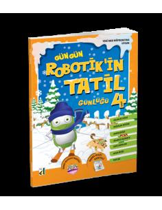 Damla Yayınları Robotik'in Tatil Günlüğü (4. Sınıf)