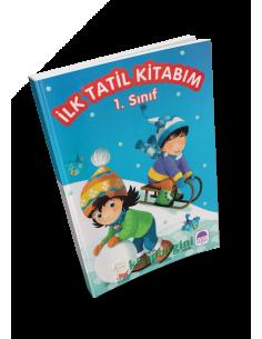 Mor Şemsiye 1. Sınıf İlk Tatil Kitabım (Hikaye Kitabı Hediyeli)