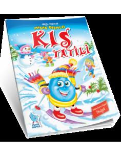 Damla Yayınları Okul Öncesi Minik Damla Kış Tatili Kitabı