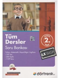 Dörtrenk Yayınları 2.Sınıf Tüm Dersler Soru Bankası