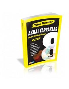Çöznet Yayınları 8. Sınıf Tüm Dersler Akıllı Yapraklar