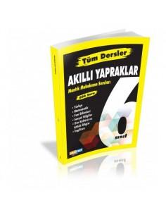 Çöznet Yayınları 6. Sınıf Tüm Dersler Akıllı Yapraklar