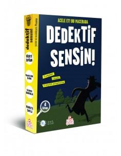 Nesil Çocuk Yayınları Dedektif Sensin! (4 Kitap)