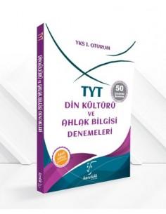 Karekök Yayınları YKS 1. Oturum TYT Din Kültürü ve Ahlak Bilgisi Denemeleri - 50 Çözümlü Deneme