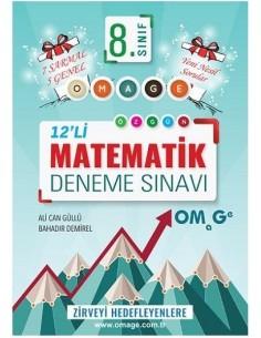 Omage 8. Sınıf Matematik 12 Deneme Sınavı (7 Sarmal + 5 Genel)