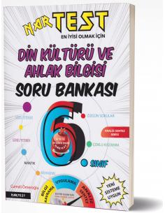 Nartest 6. Sınıf Süper Zeka Fen Liselerine Hazırlık Din kültürü ve Ahlak Bilgisi Soru Bankası