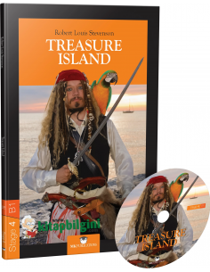Treasure Island (Stage 4 B1) with Audio CD - MK Publications