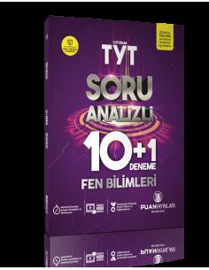 Puan Yayınları TYT Fen Bilimleri Soru Analizli 10+1 Deneme