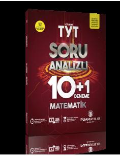 Puan Yayınları TYT Matematik Soru Analizli 10+1 Deneme