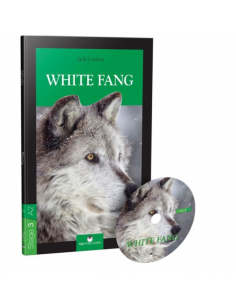 White Fang (Stage 3 A2) with Audio CD - MK Publications
