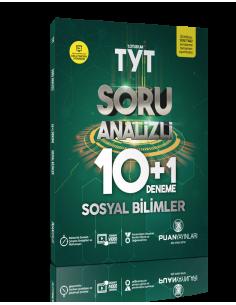 Puan Yayınları TYT Sosyal Bilimler Soru Analizli 10+1 Deneme