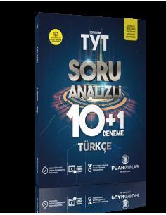 Puan Yayınları TYT Türkçe Soru Analizli 10+1 Deneme
