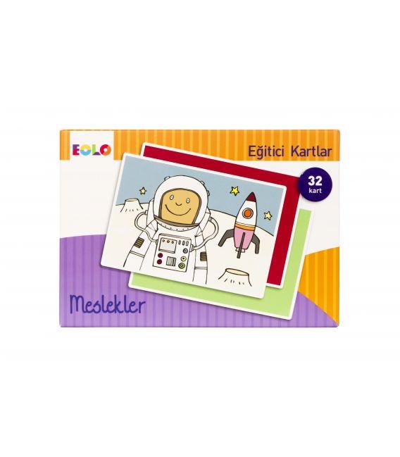 Eolo Eğitici Kartlar - Meslekler - 10007